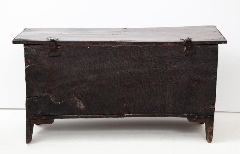 19th Century 18th Century Italian Jacobean Coffer For Sale