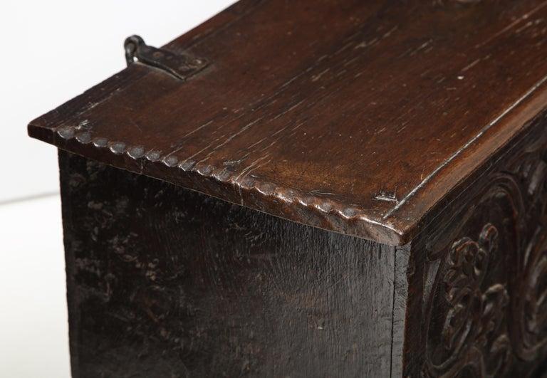 18th Century Italian Jacobean Coffer For Sale 1