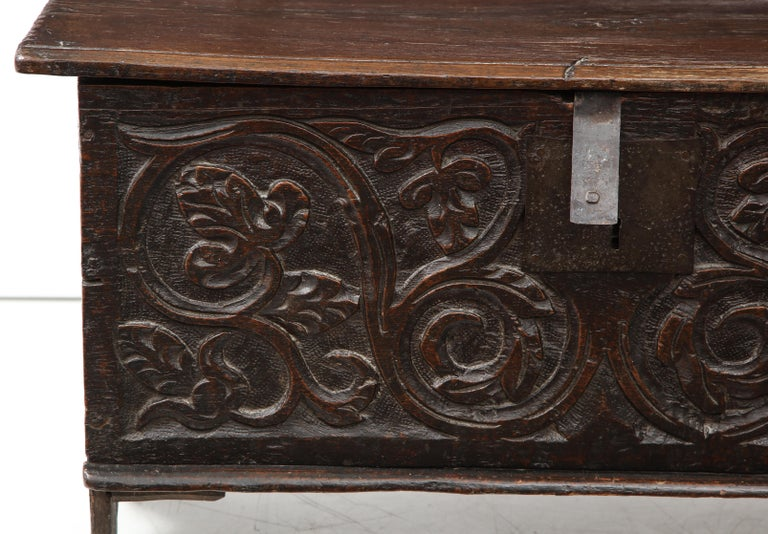 18th Century Italian Jacobean Coffer For Sale 2