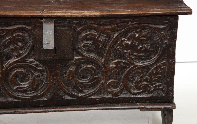18th Century Italian Jacobean Coffer For Sale 3