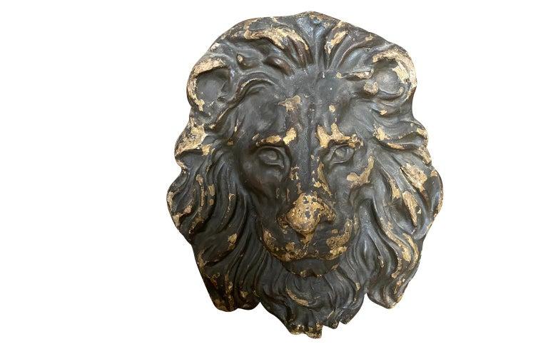18th Century Italian Lion Head In Good Condition For Sale In Atlanta, GA