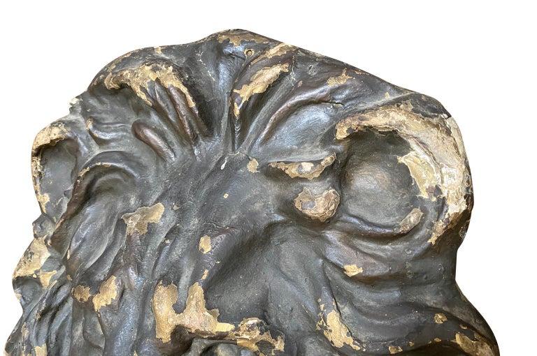 18th Century Italian Lion Head For Sale 1