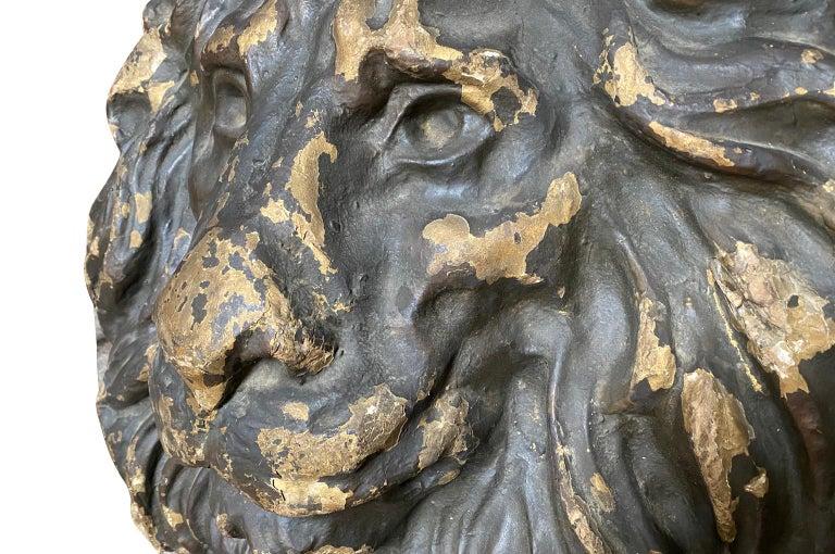 18th Century Italian Lion Head For Sale 2
