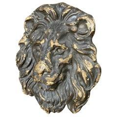 18th Century Italian Lion Head