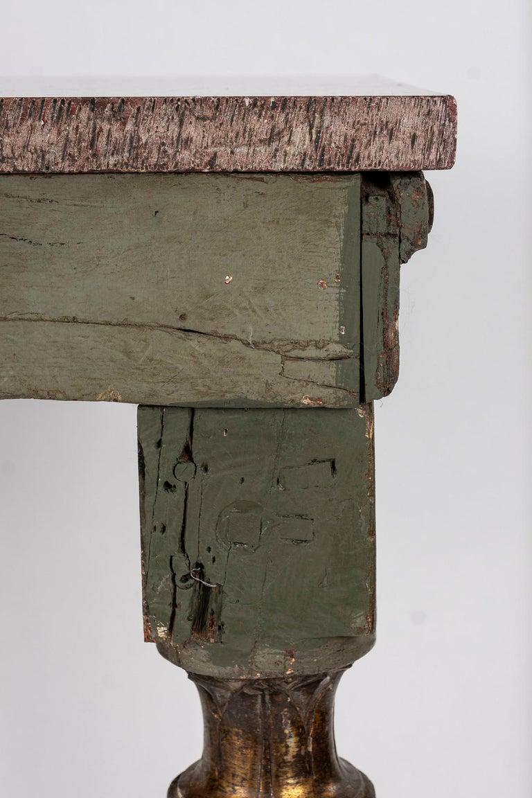 18th Century Italian Louis XVI Console Table For Sale 3