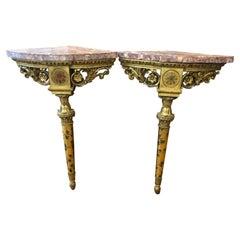 Louis XVI Console Tables