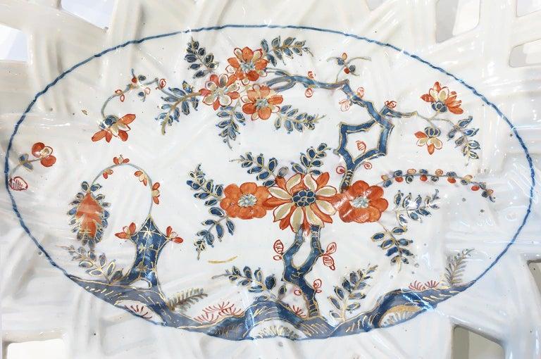 18th Century Italian Maiolica Five Dishes, Milano, circa 1770 For Sale 10