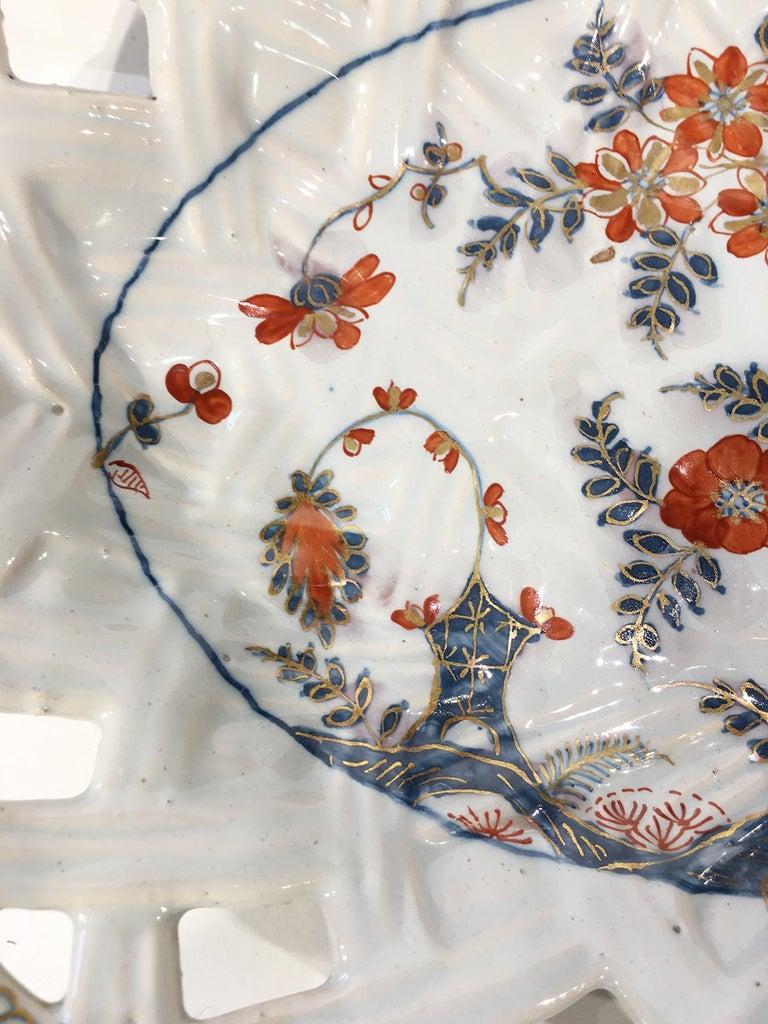18th Century Italian Maiolica Five Dishes, Milano, circa 1770 For Sale 12