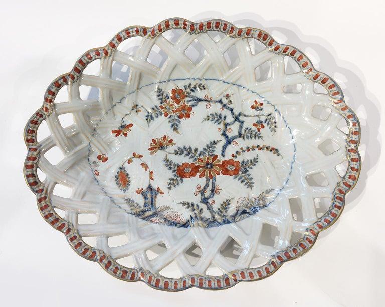 18th Century Italian Maiolica Five Dishes, Milano, circa 1770 In Good Condition For Sale In Milano, IT