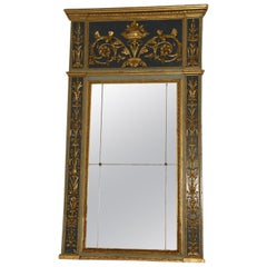 18th Century Italian Mirror Louis XVI Carved and Gilded in Gold leaf, 1760