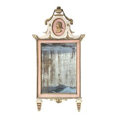 18th Century Italian Mirror with Old Glass