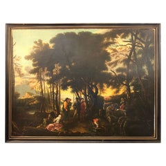 18th Century Italian Old Masters Oil Painting