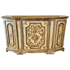 18th Century Italian Painted Commode