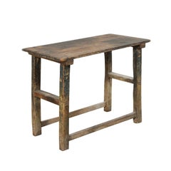 18th Century Italian Primitive Occasional Table