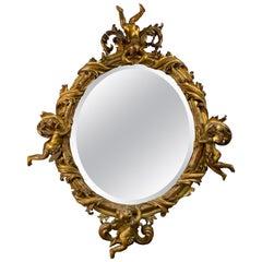 18th Century Italian Putti Mirror