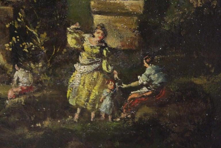 18th Century Italian School Oil on Canvas Painting For Sale 12