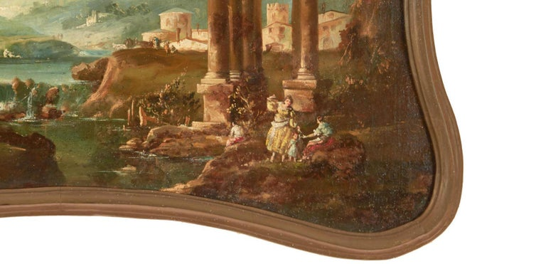 18th Century Italian School Oil on Canvas Painting For Sale 1