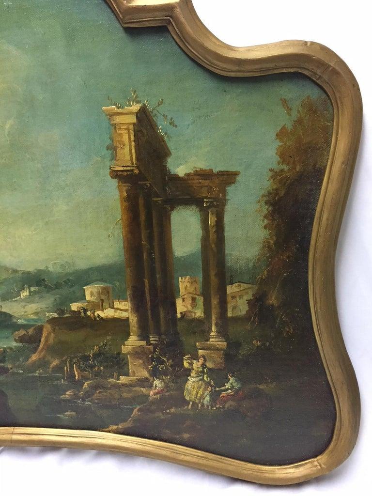 18th Century Italian School Oil on Canvas Painting For Sale 2