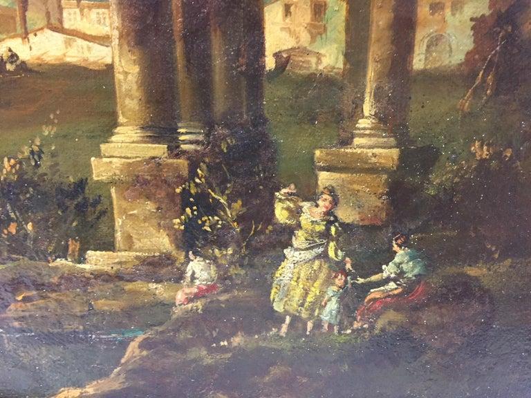 18th Century Italian School Oil on Canvas Painting For Sale 6