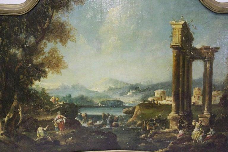 18th Century Italian School Oil on Canvas Painting For Sale 8