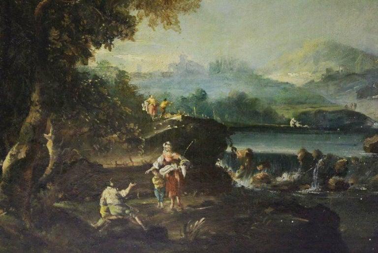 18th Century Italian School Oil on Canvas Painting For Sale 9