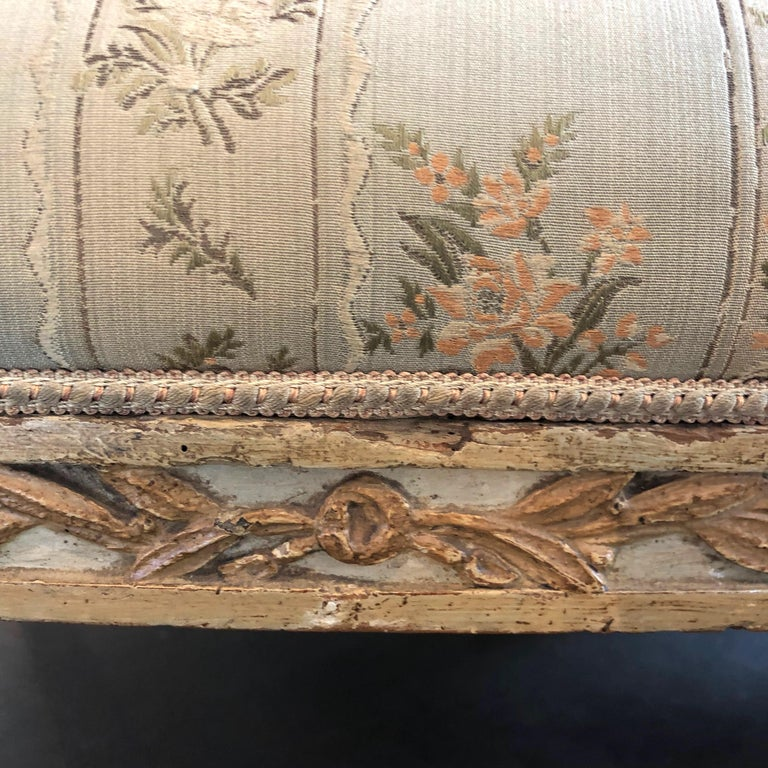 18th Century Italian Settee In Good Condition For Sale In Boston, MA