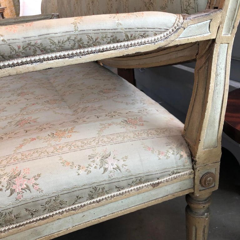 18th Century and Earlier 18th Century Italian Settee For Sale
