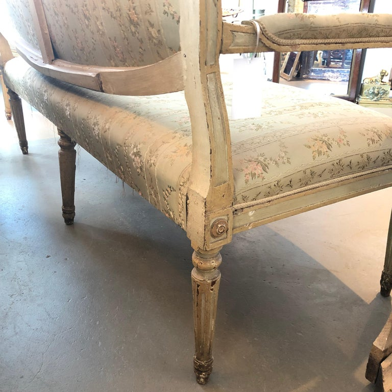 18th Century Italian Settee For Sale 3