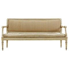 18th Century Italian Sofa with Original Paint