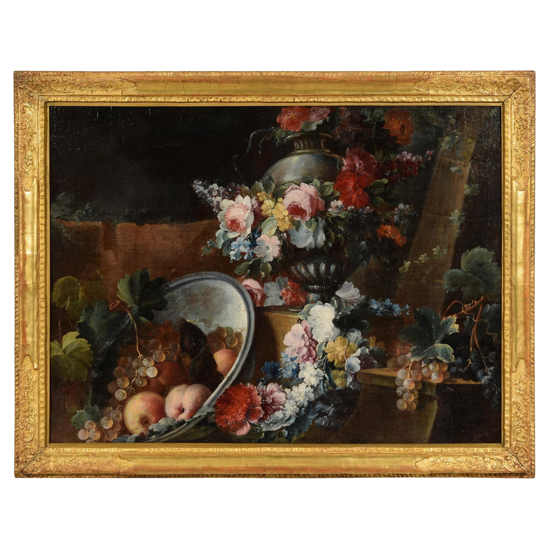 18th Century, Italian Still Life by Michele Antonio Rapos