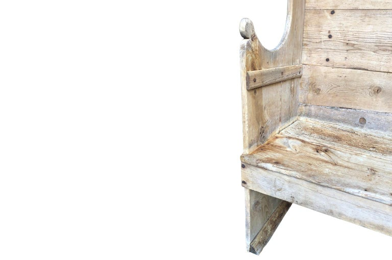 18th Century Italian Table, Bench For Sale 11