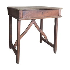 18th century Italian Walnut Console desk