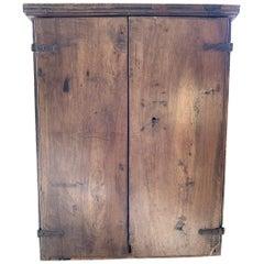 18th Century Italian Walnut Hanging Cupboard