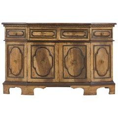 18th Century Italian Walnut Sideboard