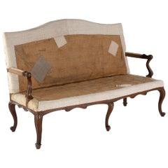 18th Century Italian Walnut Sofa
