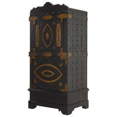 18th Century Italian Wrought Iron Studded Safe