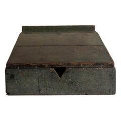 18th Century James Walter Folger Slant Top Desk Box from Nantucket