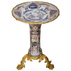 18th Century Japanese Arita Imari Mounted Table