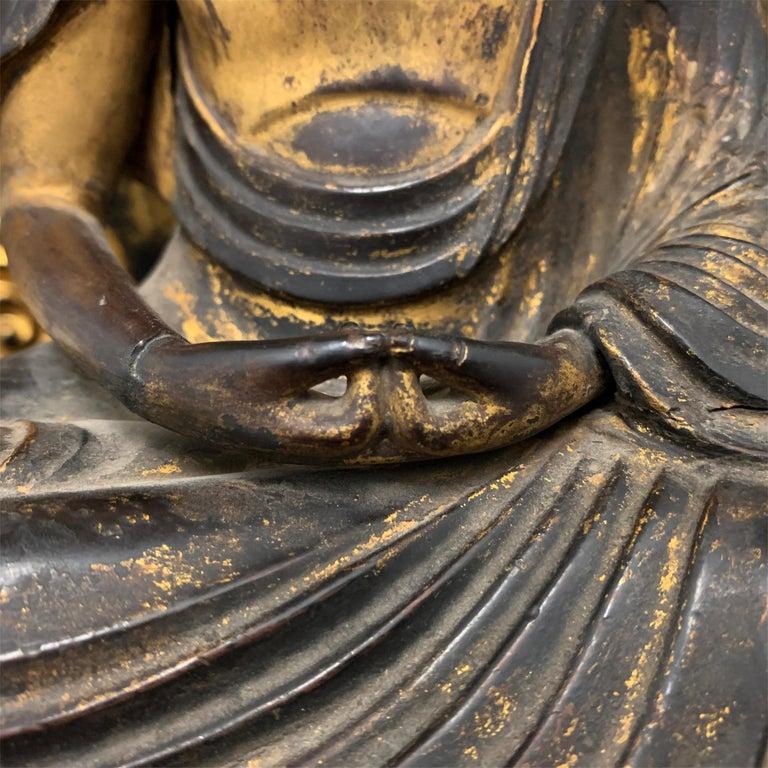 Edo Period Japanese Bodhisattva Shrine For Sale 1