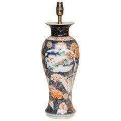 18th Century Japanese Imari Vase as a Lamp