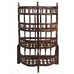 18th Century Jars Cabinet Walnut