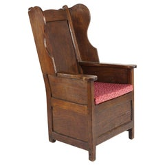 18th Century Lambing Chair, Great Color and Patination, Nice Accent Piece