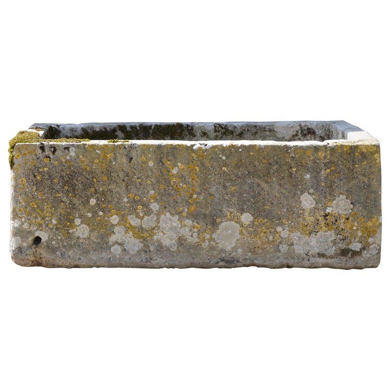 18th Century Large Stone Trough For Sale