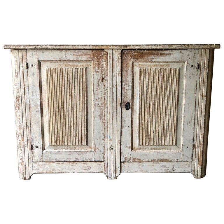 18th Century Large Swedish Period Gustavian Sideboard For Sale