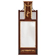 18th Century Lorenz Nielsen Louis XVI Mirror