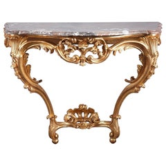 18th Century Louis XV Console Table