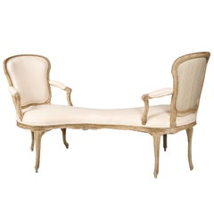 18th Century Louis XV Period Settee/Bench/Canape