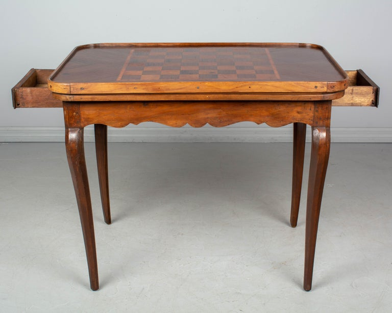 18th Century Louis XV Style French Game Table In Good Condition For Sale In Winter Park, FL