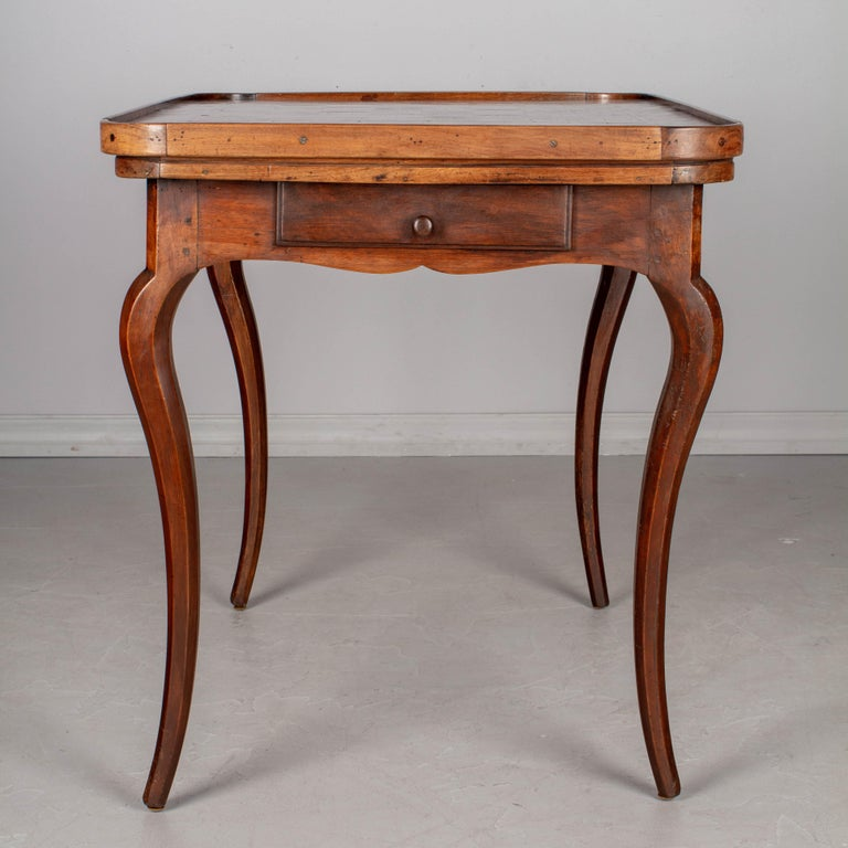 18th Century Louis XV Style French Game Table For Sale 2