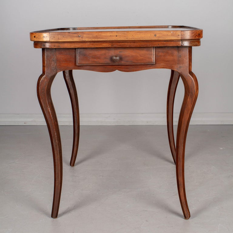 18th Century Louis XV Style French Game Table For Sale 3